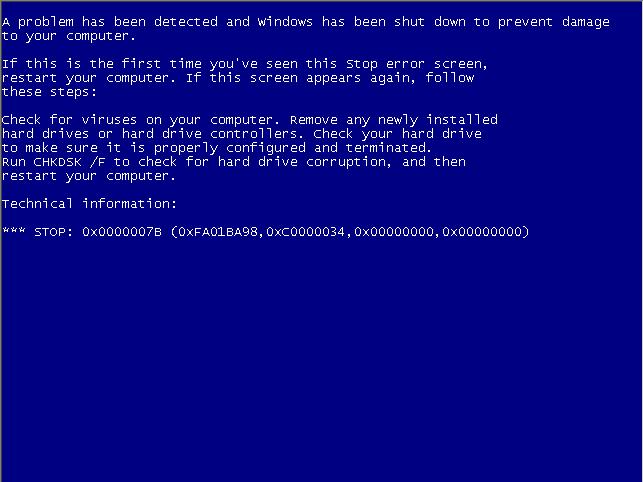 电脑蓝屏屏保程序SysInternalsBluescreen